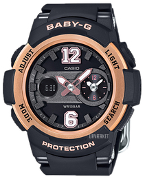 Casio Baby-G Sort/Resinplast Ø46 mm BGA-210-1BER