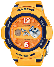 Casio Baby-G Orange/Resinplast Ø46 mm BGA-210-4BER