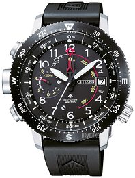 Citizen Promaster Sort/Gummi Ø47.1 mm BN4044-15E