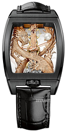Corum Dragon Skeletskåret/Læder 113.265.95-0001 GD55R