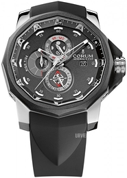 Corum Admirals Cup Seafender Sort/Gummi Ø48 mm 277.931.06-0371 AN52