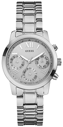 Guess Mini Sølvfarvet/Stål Ø37 mm W0448L1