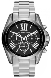 Michael Kors Bradshaw Sort/Stål Ø43 mm MK5705