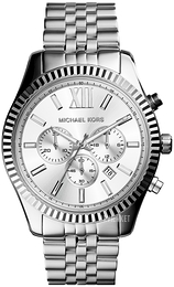 Michael Kors Lexington Sølvfarvet/Stål Ø45 mm MK8405