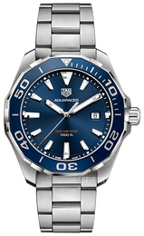 TAG Heuer Aquaracer Blå/Stål Ø43 mm WAY101C.BA0746