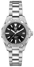 TAG Heuer Aquaracer Lady Sort/Stål Ø32 mm WBD1310.BA0740