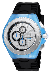 Technomarine Cruise Jellyfish Sølvfarvet/Gummi Ø46 mm TM-115192