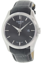 Tissot Sort/Læder Ø41 mm T035.410.16.051.00