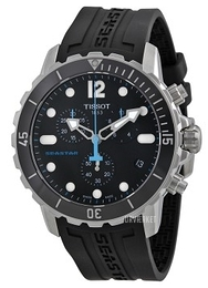 Tissot TISSOT SEASTAR 1000 Quartz Sort/Gummi Ø45 mm T066.417.17.057.00