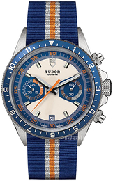 Tudor Heritage Chrono Flerfarvet/Tekstil Ø42 mm 70330b-0003