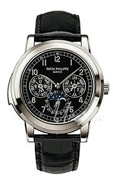 Patek Philippe Grand Complications Sort/Læder Ø42 mm 5074P/001