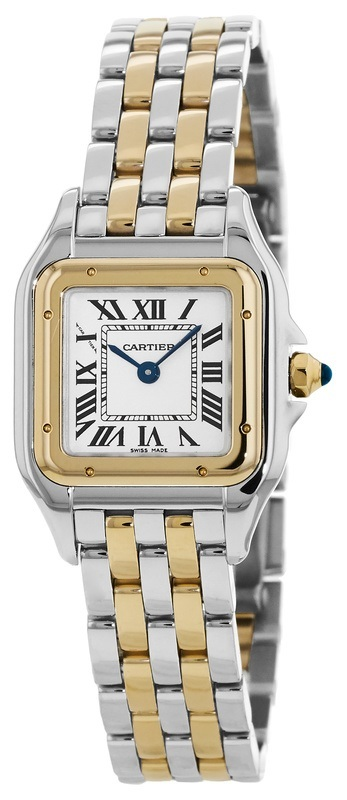 Cartier Panthere De Cartier Dameur W2PN0006 Sølvfarvet/18 karat guld