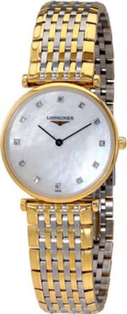 Longines Grande Classique Dameur L4.512.2.87.7 Gul guldtonet stål