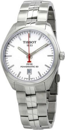 Tissot Pr 100 Herreur T101.407.11.011.00 Sølvfarvet/Stål Ø39 mm
