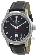 Alpina Alpiner Sort/Læder Ø41.5 mm