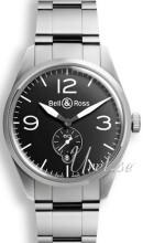 Bell & Ross BR 123 Sort/Stål Ø41 mm