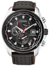 Citizen Radio Controlled Sort/Læder Ø44 mm