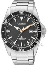 Citizen Promaster Sea Sort/Stål Ø41 mm