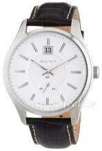 Gant Bergamo Hvid/Læder Ø45 mm