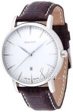 Gant Hvid/Læder Ø43 mm