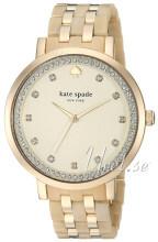 Kate Spade Champagne/Gul guldtonet stål Ø38 mm