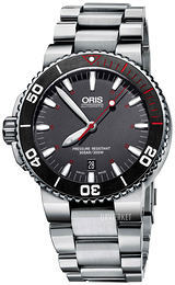 Oris Diving Grå/Stål Ø43 mm 01 733 7653 4183-Set MB