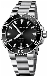Oris Diving Sort/Stål Ø43.5 mm 01 733 7730 4134-07 8 24 05PEB
