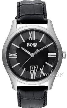 Hugo Boss Ambassador Sort/Læder Ø40 mm
