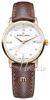 Maurice Lacroix Eliros Date Ladies Hvid/Læder Ø30 mm
